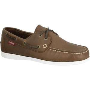 deck shoes / leather
