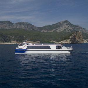 Catamaran professional boat - All boating and marine