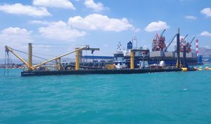 cutter-suction dredge special vessel