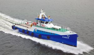 crew transfer offshore support vessel