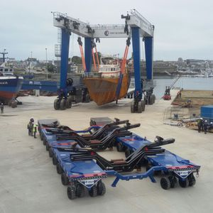 Heavy haul trailer - All boating and marine industry