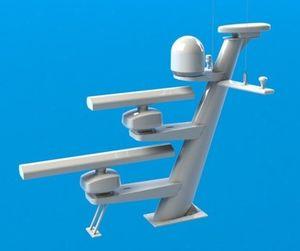 radar antenna mount / Satcom / composite / custom