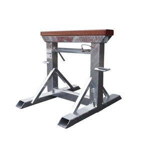 adjustable boat stands / keel / galvanized steel