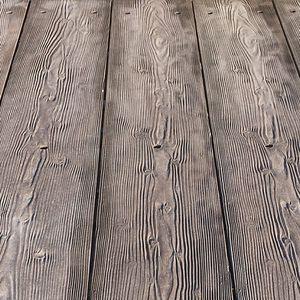 timber dock decking