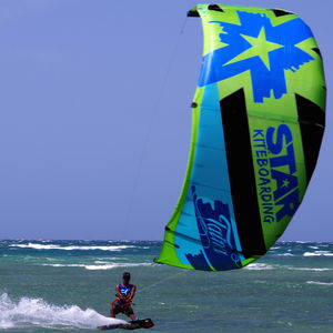 hybrid kitesurf kite / wave / all-around