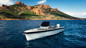 outboard center console boat / yacht tender