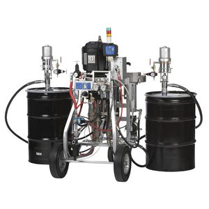 two-component paint spraying machine