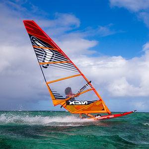 freeride windsurf sail / freerace / 7-batten / 6-batten