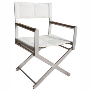 boat director's chair / folding / aluminum