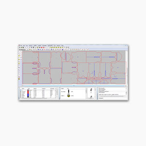 control software / nesting / operating / for fabric cutting applications
