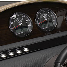 boat instrument panel / drive