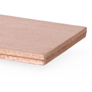 decorative panel / plywood / flexible