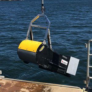 bathymetry survey sonar / side scan / high-resolution