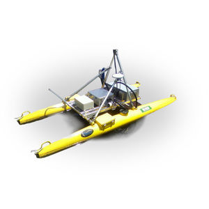 AUV sonar / for bathymetry surveys / side scan