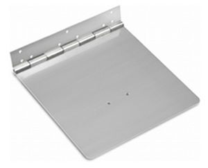 electromechanical trim tab / for boats / stainless steel