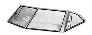 boat windshield / helm station