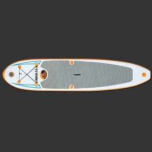 touring SUP / surf / inflatable / foam