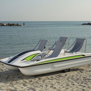 4-seater pedal boat
