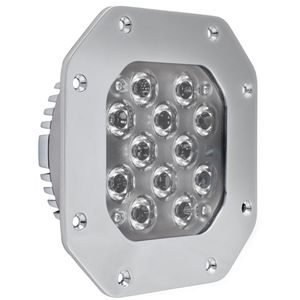 outdoor spotlight / for boats / LED / built-in