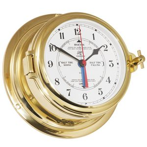analog clock / tide indicator