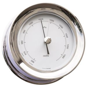 analog barometer / stainless steel