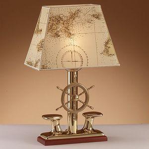 indoor light / for ships / desk / with incandescent bulb