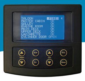 boat alarm system / fire