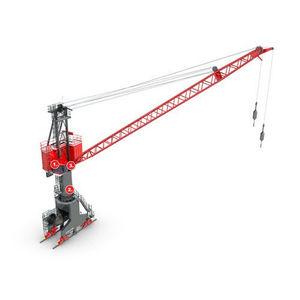 floating dock crane