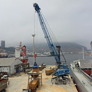 port crane / mobile / luffing jib