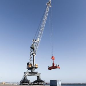 Liebherr Floor track cranes - All the products on NauticExpo