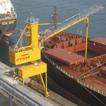 continuous ship unloader