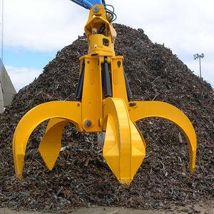 hydraulic bulk cargo grab