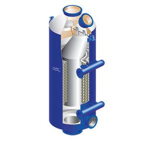 vertical heater
