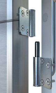 ship hinge / concealed / electric / for doors
