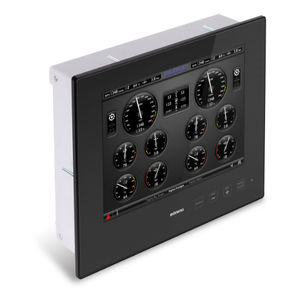 ship display / for yachts / PC / control