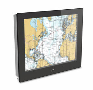 ship display / for yachts / control / touch screen