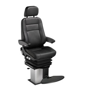 helm seat / for ships / with armrests / adjustable