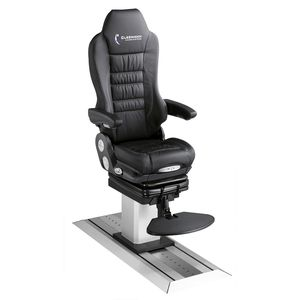helm seat / for ships / with armrests / high-back