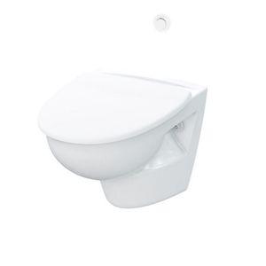 cargo ship toilet / vacuum / wall-mounted
