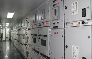 ship electrical cabinet