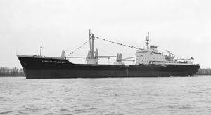 bulk carrier cargo ship / Capesize
