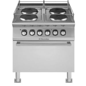 boat stove-oven / electric / four-burner