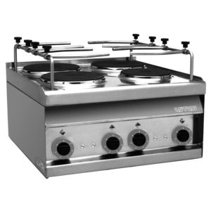 electric stove / for ships / four-burner