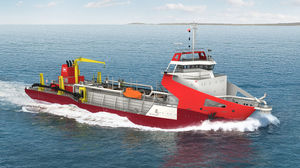 trailing suction hopper dredger special vessel