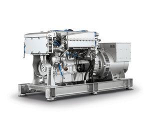 yacht generator set / hybrid / with alternator