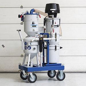 shipyard sandblasting machine / mobile