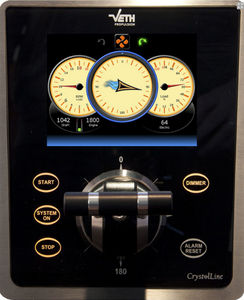 ship monitoring and control panel / thruster