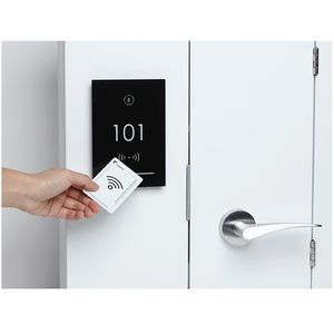 electronic lock / for ships / key card
