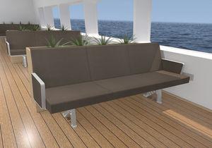 passenger ship bench seat