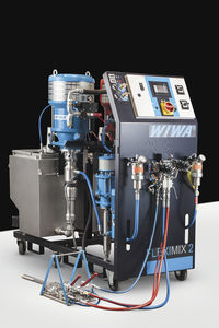 multi-component paint spraying machine